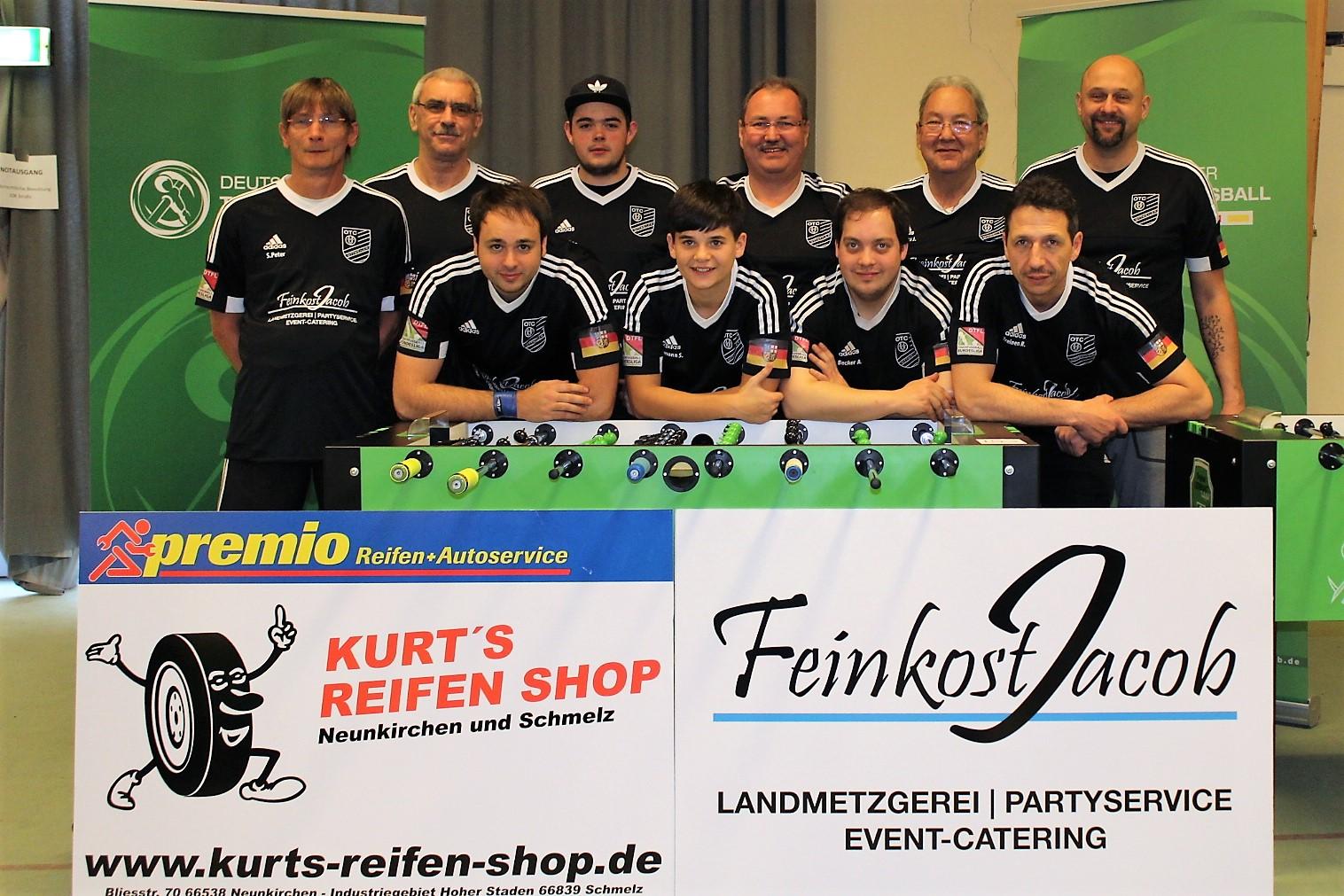 Teilnehmer auf der deutschen Meisterschaft