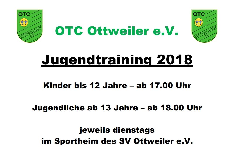 OTC Jugendtraining